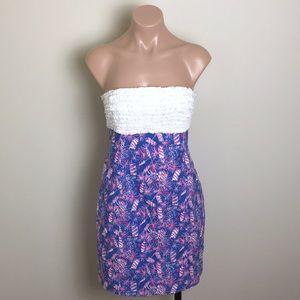 Lilly Pulitzer   Franco Dress Starry Blue Cherry